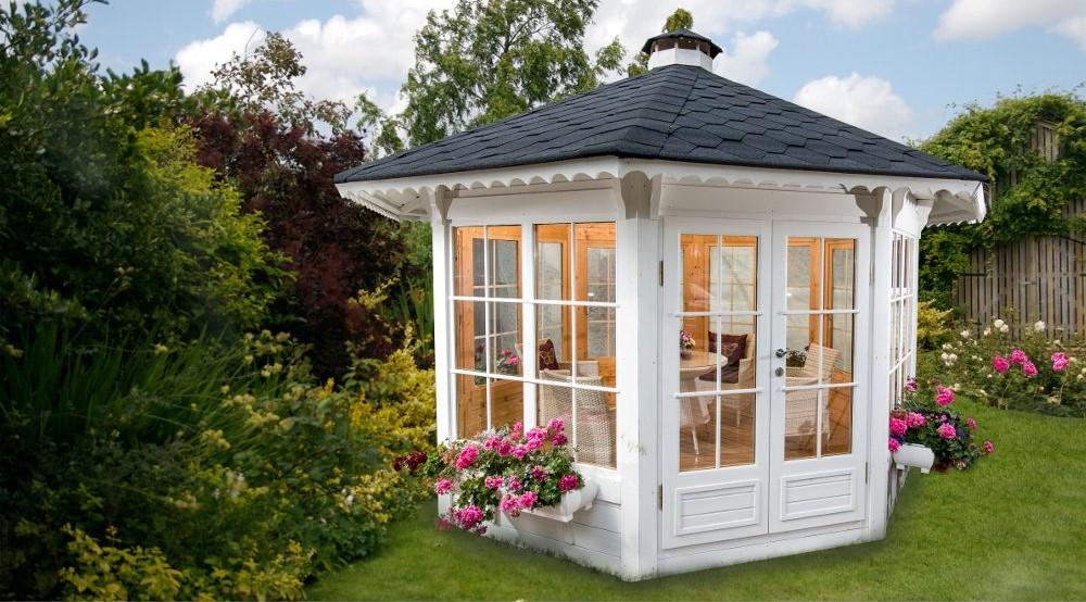 Casette in legno Pavilion