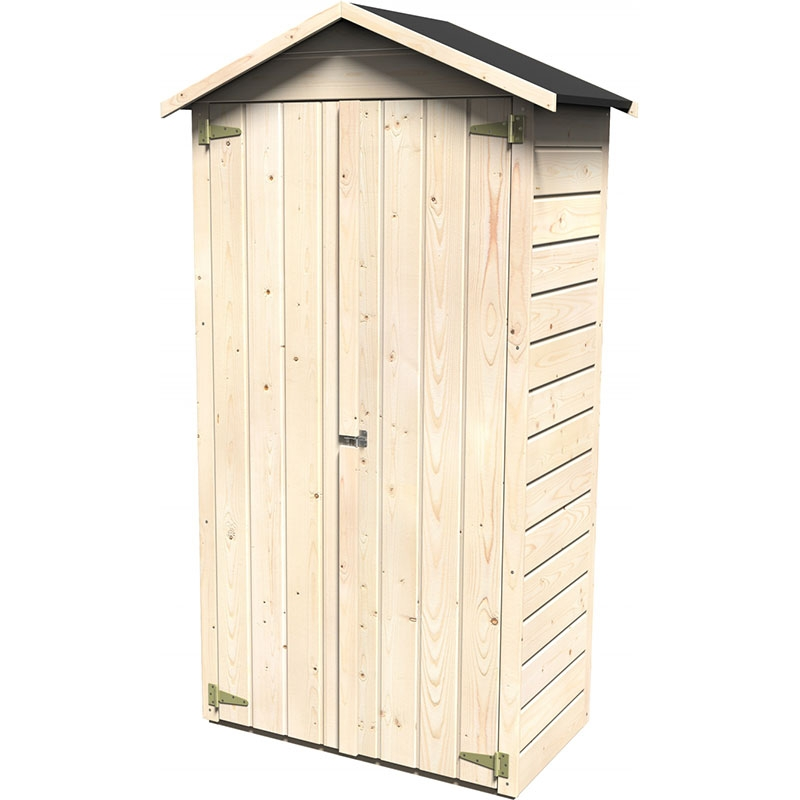 Legnaie in legno da esterno chiuse casette in legno - L armadio in giardino ...