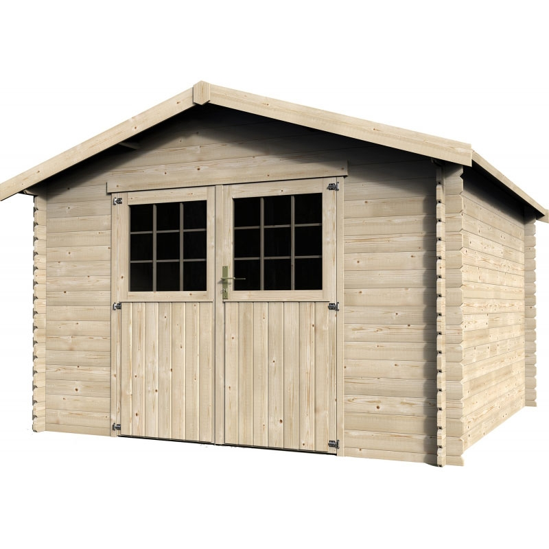 Casette in legno da giardino medie da 10 a 15 mq for Casette in legno obi