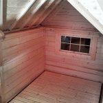 Casetta in legno ERIS interni