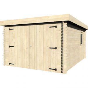 garage in legno Gardan
