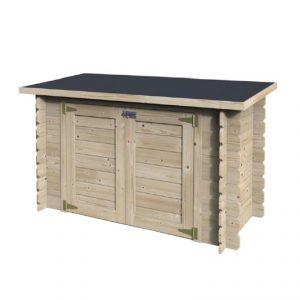 legnaia in legno da esterni LIBRA