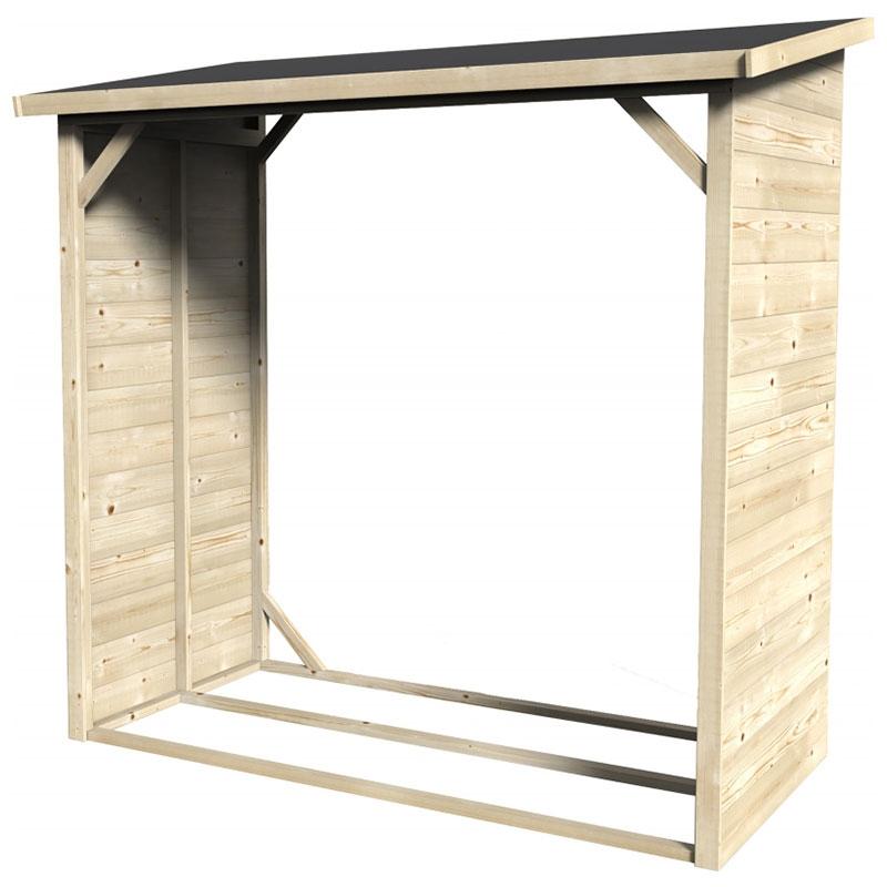 Legnaie in legno da esterno aperte casette in legno - Pannelli osb per esterno ...