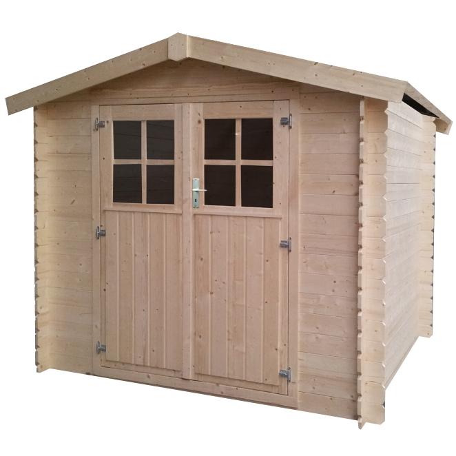 Casette in legno da giardino piccole da 5 a 9 mq for Guaina bituminosa leroy merlin