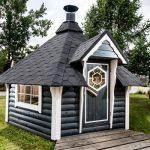 Casetta in legno da giardino aura
