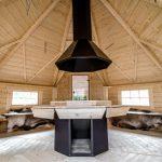 Casetta in legno AURA interno