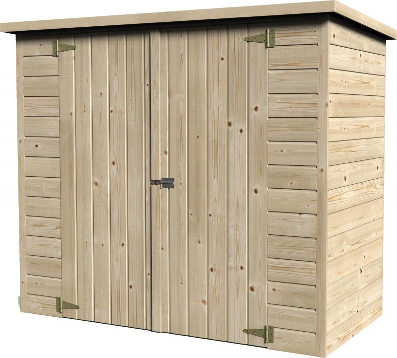 Casette in legno da giardino porta attrezzi da 2 a 8 mq for Casette per uccelli leroy merlin