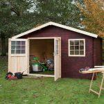 Casetta in legno da giardino eva