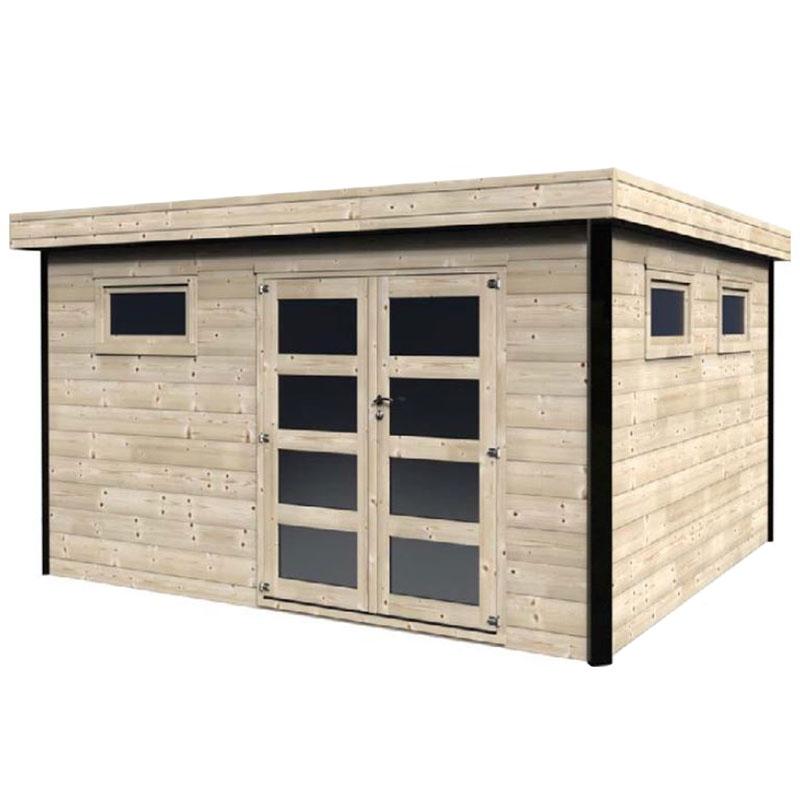 Casette in legno da giardino grandi da 16 a 20 mq for Casette in legno per cani grandi
