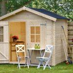 Casetta in legno da giardino fina
