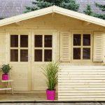 Casetta in legno da giardino francesco