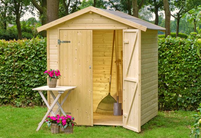 Casette in legno da giardino porta attrezzi da 2 a 8 mq for Casetta in legno con portico