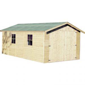 garage in legno poline