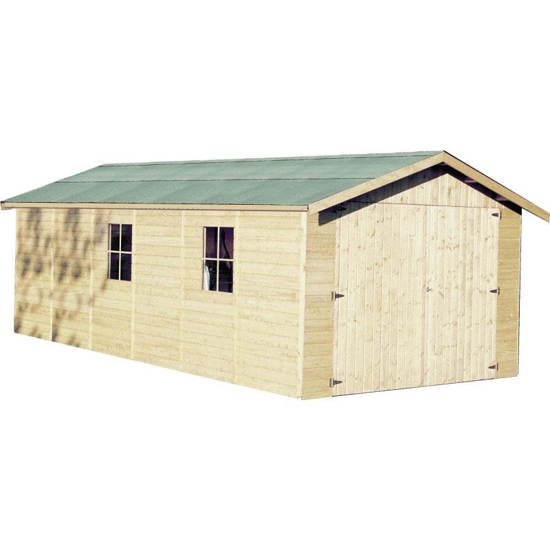 Box in legno da giardino grandi da 21 a 30 mq casette for Giardino 30 mq progetto