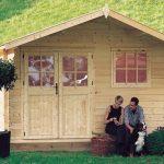 Casa in legno da giardino rosita
