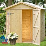 Casetta in legno silvia porta attrezzi