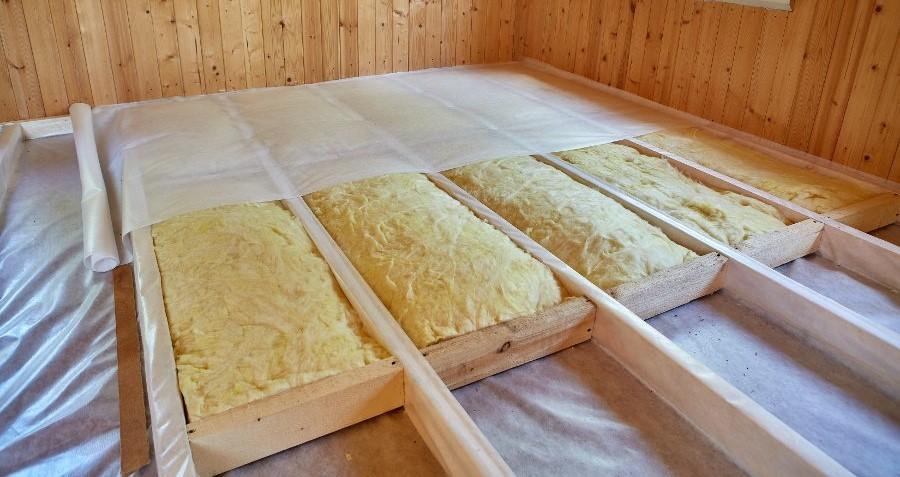 isolare pavimento casetta in legno